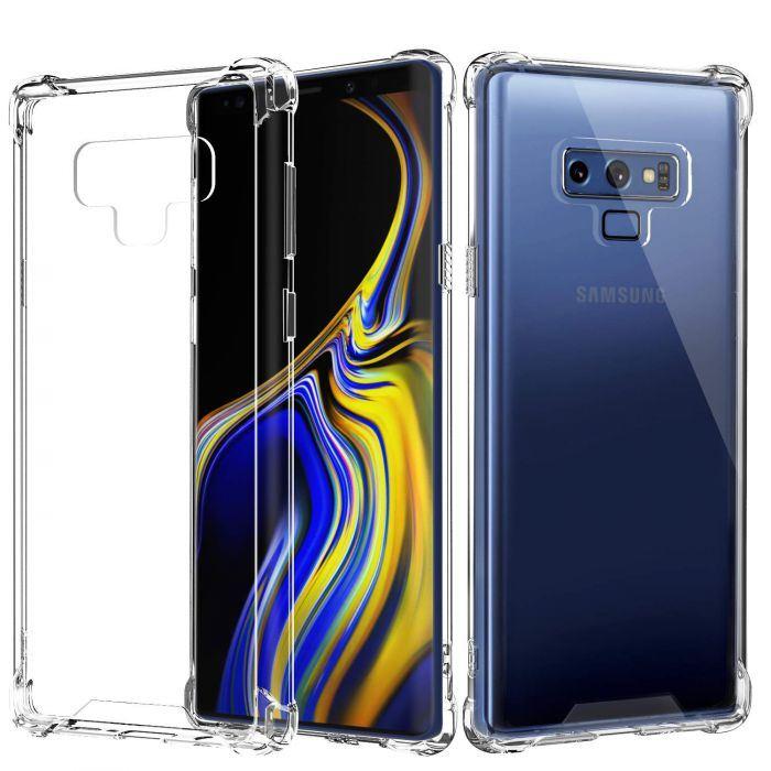 Coque du Samsung Galaxy Note 9 Silicone Transparent Antichoc Durable Indestructible